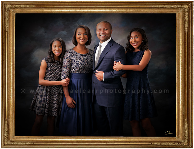 Formal Studio Family Portraiture