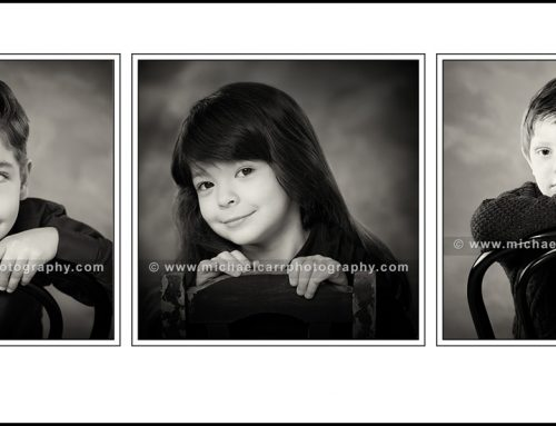 Black and White Portrait Photographer Houston