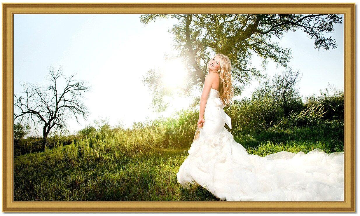 Ranch Bridal Portrait Photography