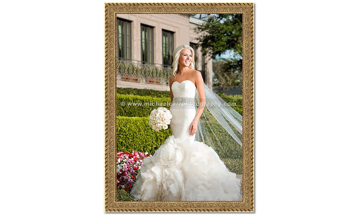 Country Club Bridal Portrait Photography