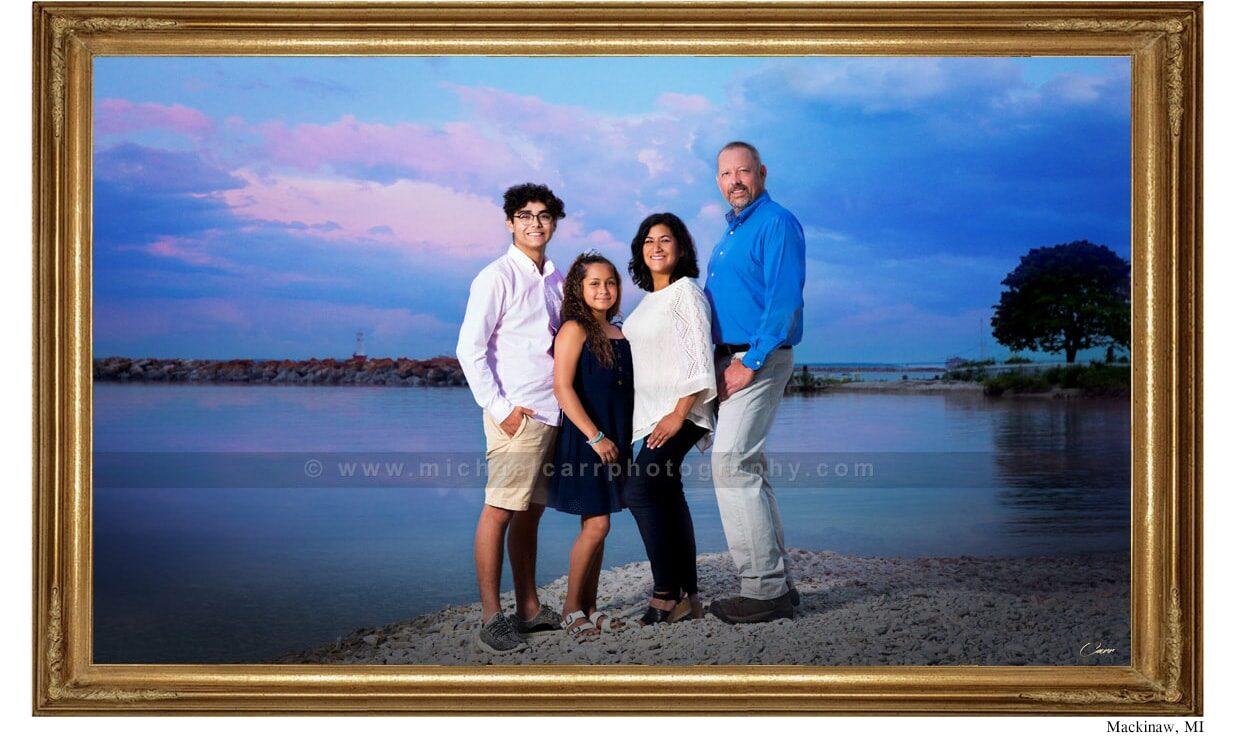 Destination Family Portrait Photographer