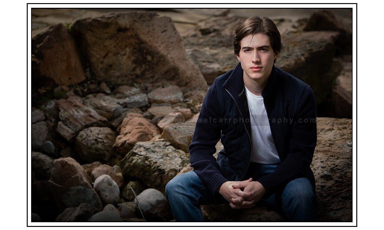 Outdoor Boy Senior Photography