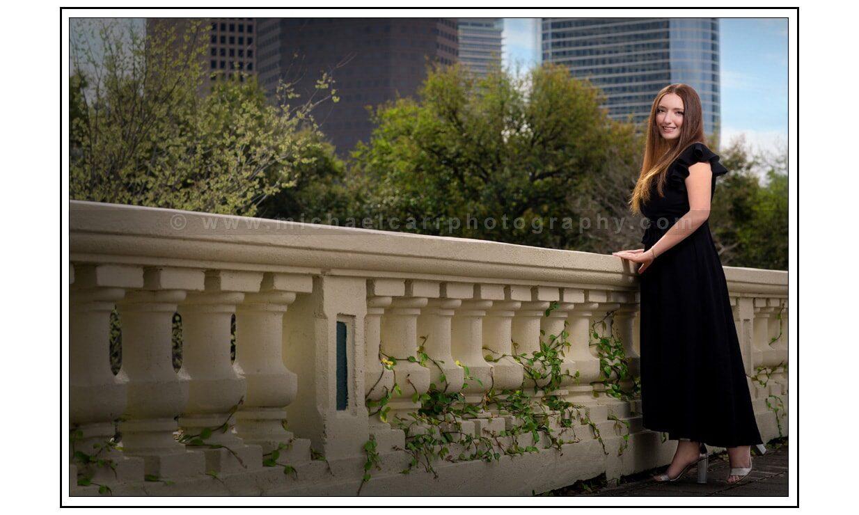 Houston Senior Photography Downtown